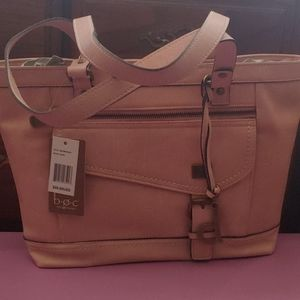 NEW WITH TAGS PINK BAG BY B.O.C.